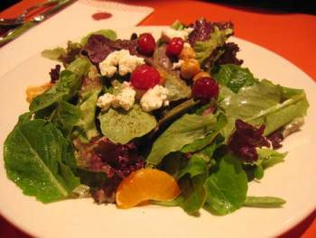 A colorful salad from Pomegranate