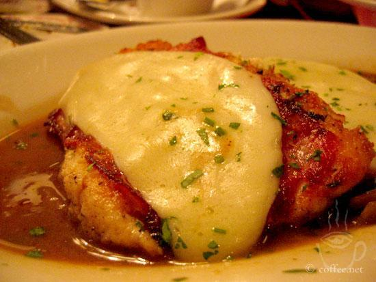 Chicken saltimbocca with sage, prosciutto, provolone