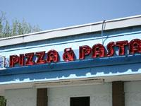 Front of Acropolis Pizza and Pasta