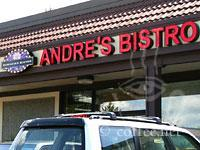 Front of Andre's Eurasian Bistro