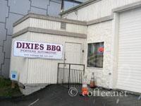 Front of Dixie's BBQ