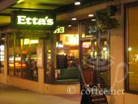 Front of Etta's Restaurant