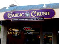 Front of Garlic Crush