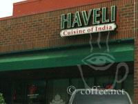 Front of Haveli Cuisine of India