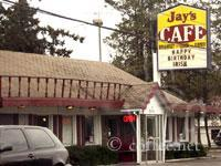 Front of Jay's Cafe