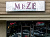 Front of Meze the Mediterranean Bistro