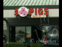 Front of 3 Pigs BBQ
