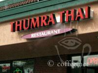 Front of Thumra Thai