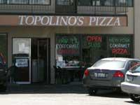 Front of Topolino's Pizza