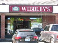 Front of Wibbley's Gourmet Burgers